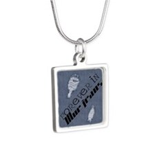 fibj_jewelery_case Silver Square Necklace