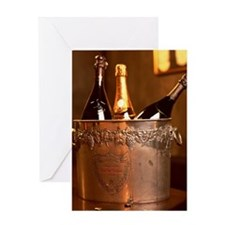 Bucket of Champagne Greeting Card