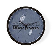 fibj_wooden  Wall Clock