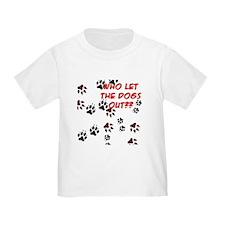 Dog Paws Toddler T-Shirt