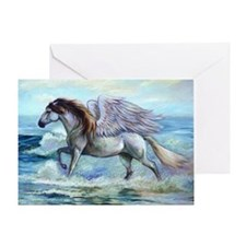 Pegasus Oceanus Greeting Card
