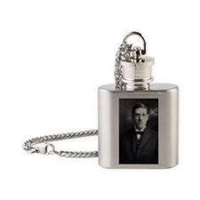 HP Lovecraft std Flask Necklace