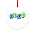 Hibiscus 2 Ornament (Round)