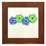 Hibiscus 2 Framed Tile