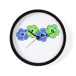 Hibiscus 2 Wall Clock