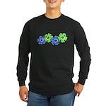 Hibiscus 2 Long Sleeve Dark T-Shirt