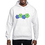 Hibiscus 2 Hooded Sweatshirt