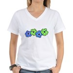 Hibiscus 2 Women's V-Neck T-Shirt