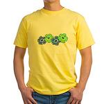 Hibiscus 2 Yellow T-Shirt