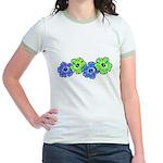 Hibiscus 2 Jr. Ringer T-Shirt