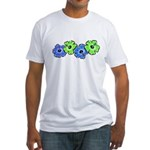 Hibiscus 2 Fitted T-Shirt