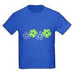 Hibiscus 2 Kids Dark T-Shirt