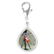 Monster High OOAK 3LK (Thre Silver Teardrop Charm