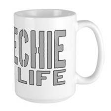 techie 4 life Coffee Mug
