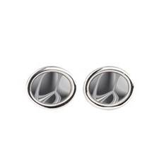 Liquid Silver Cufflinks