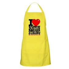 I Heart Boston Strong Minneapolis Apron