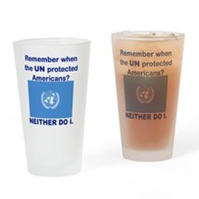 REMEMBER WHEN THE UN PROTECTED AMER Drinking Glass
