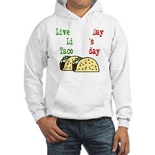Taco Tuesday On Black Hoodie