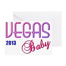 Vegas Baby 2013 Greeting Card