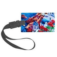 3x5_Rug13 Large Luggage Tag