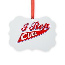 Cuban patriotic designs Ornament
