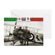 Francesco Baracca Greeting Card