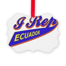 Ecuadorian patriotic designs Ornament