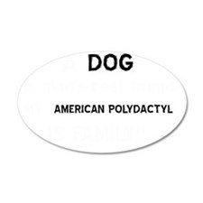 American Polydactyl cat desi Wall Decal