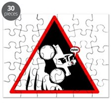 Hill Climb DUDE Danger Signs Puzzle