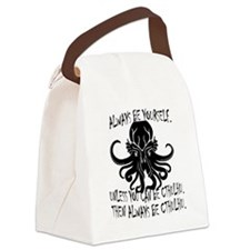 cthulhu Canvas Lunch Bag