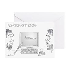 Searcher-Gatherers Greeting Card