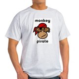 Monkey Pirate English T-Shirt