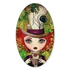 Lady Hatter Decal