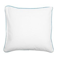 Kiting Square Canvas Pillow