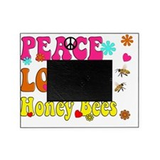peace love honeybees Picture Frame