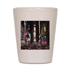 Times Square Shot Glass