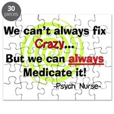 Psych Nurse cant fix crazy Puzzle