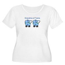 Grandma of Twins (Boys) T-Shirt