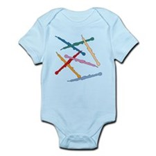 Colorful English Horns Infant Bodysuit
