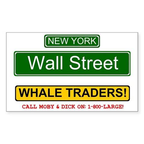 WHALE TRADERS - WALL STREET - Decal