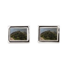 Mutianyu section of the Great Wall of Ch Cufflinks