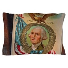 George Washington memorabilia Pillow Case
