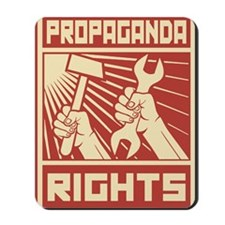 Rights Workers Propaganda Mousepad