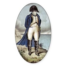 Napoleon I in exile Decal