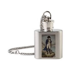 Napoleon I in exile Flask Necklace