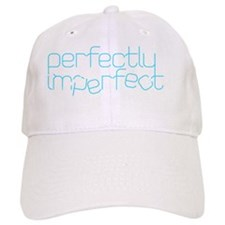 Perfectly Imperfect Aqua Baseball Cap
