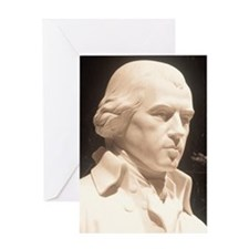 Statue of James Madison, Library of  Greeting Card