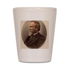 Portrait of US President Rutherford B.  Shot Glass