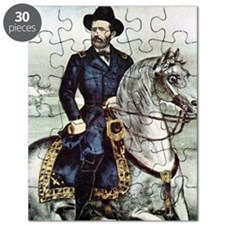 Portrait of Ulysses S. Grant on horseback Puzzle