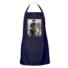 Portrait of Ulysses S. Grant on horse Apron (dark)